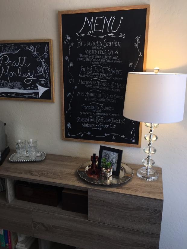 Lamp in Kitchen