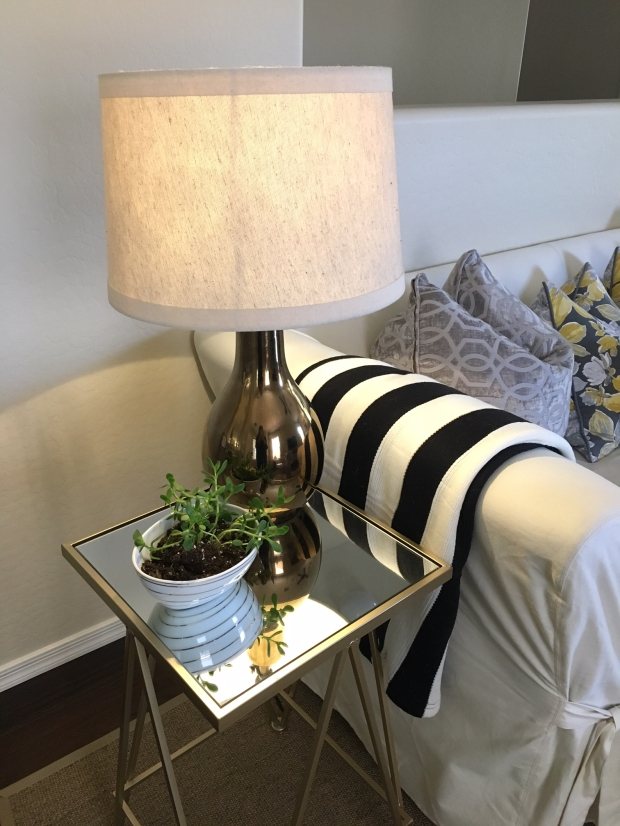 Lamp in Living Room
