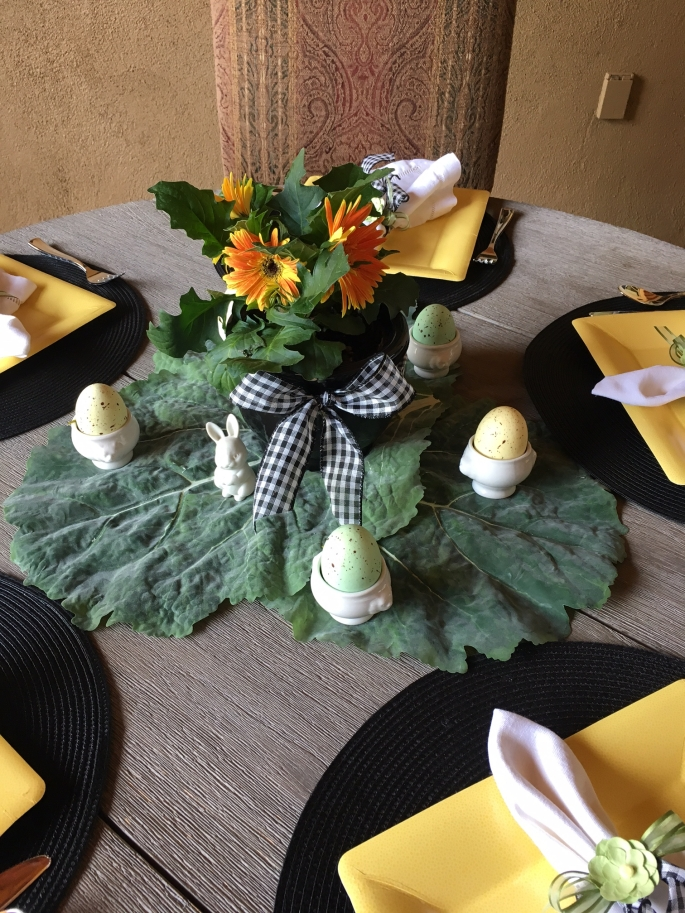 Round Table Centerpiece
