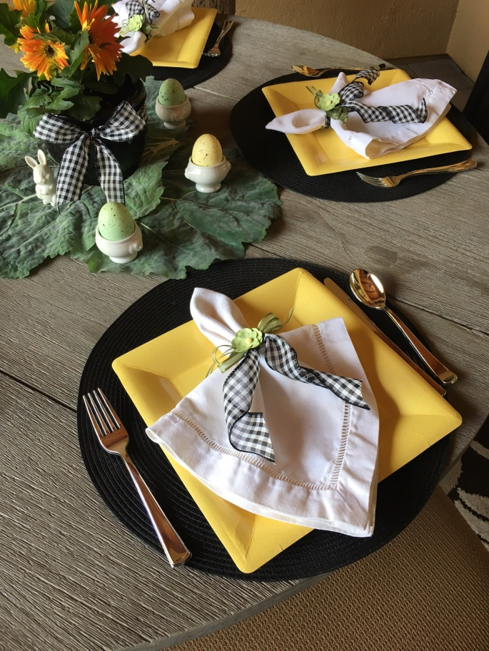 Round Table Place Setting