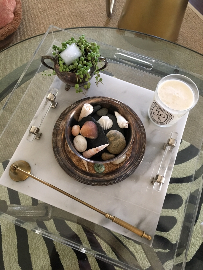 Coffee Table Vignette 2