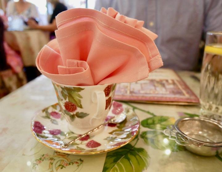 Teacup With Napkin