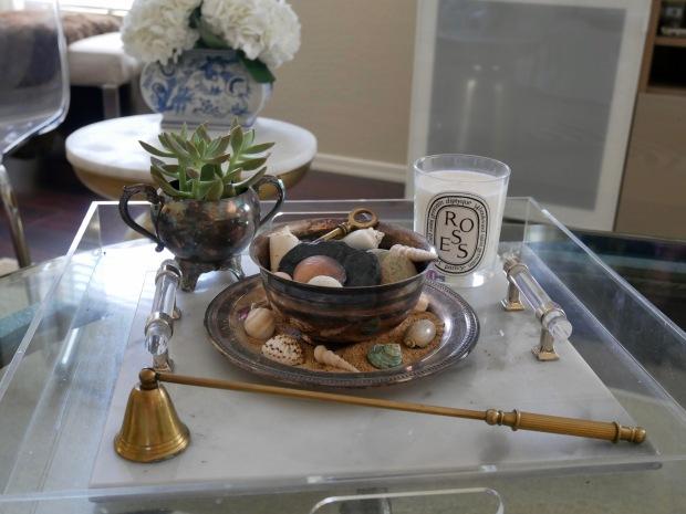 Coffee Table Vignette