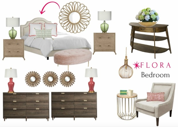 Flora Bedroom Olioboard