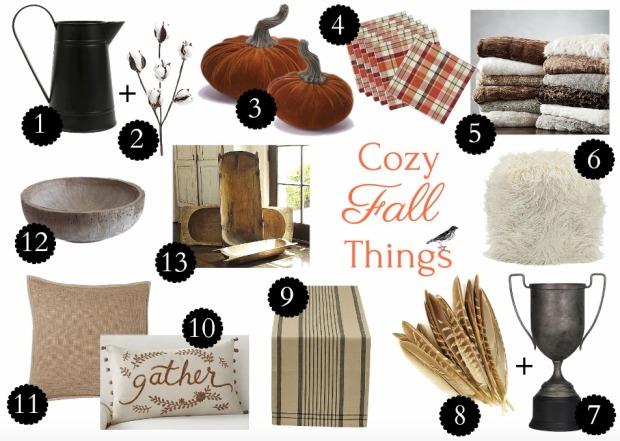 Cozy Fall Things