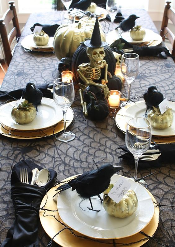 Halloween Table Inspirations {Details Blog}