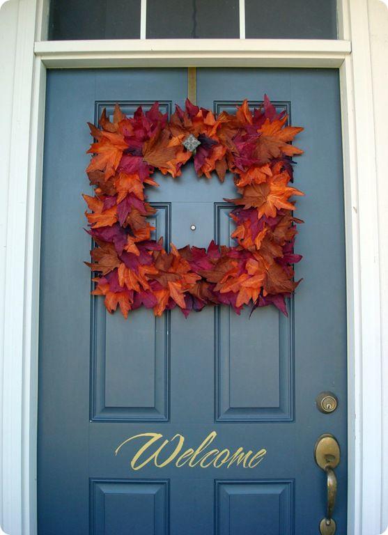 Fallifying Your Front Door {Details Blog}