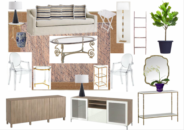 Long-Term House Plans: Living Room {Details Blog}