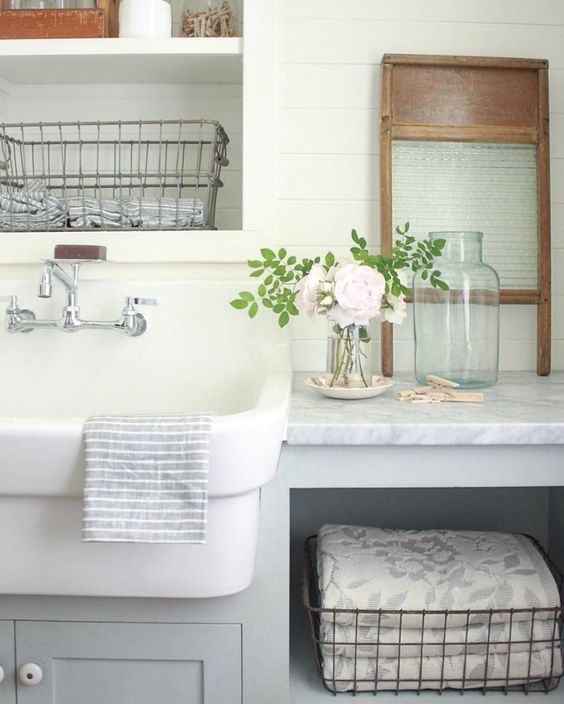 Gettin' Cozy with Laundry & Mudrooms {Details Blog}